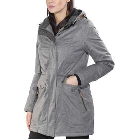 High Colorado Turin Parka hiver Femme, grey melange